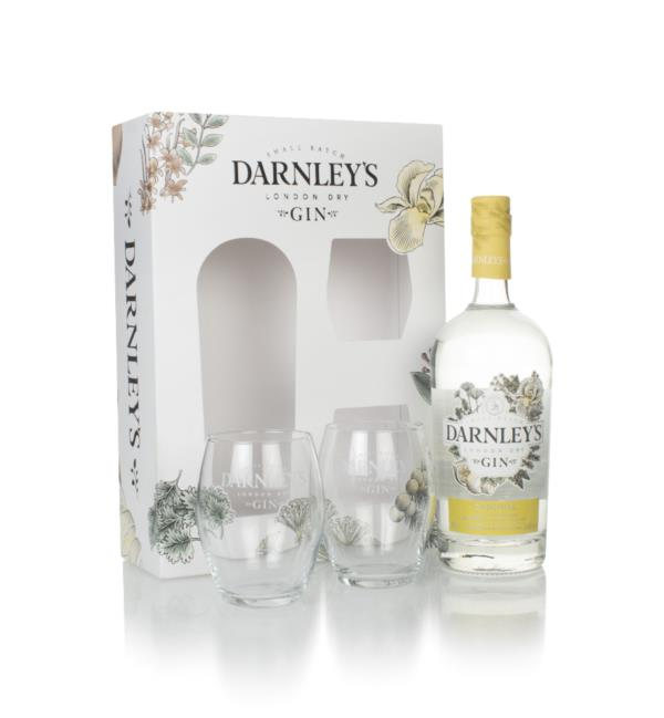 Darnleys Gin Gift Pack with 2x Glasses London Dry Gin