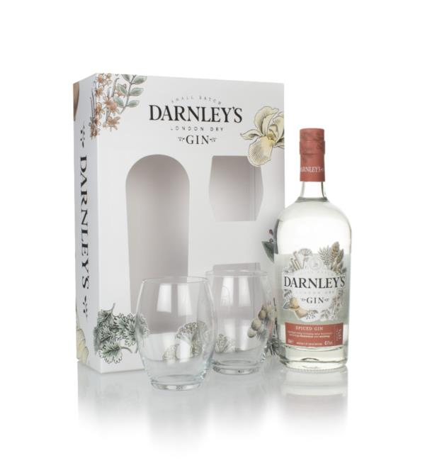 Darnleys Spiced Gin Gift Pack with 2x Glasses London Dry Gin