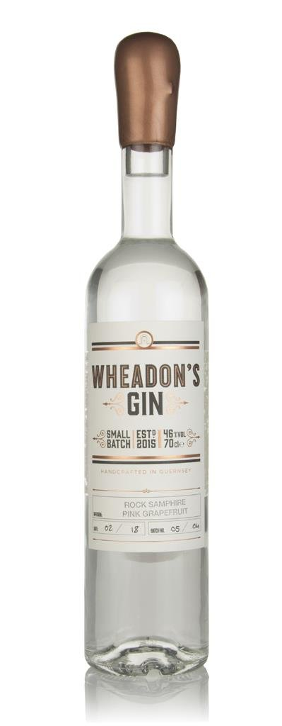 Wheadon's Gin - Rock Samphire & Pink Grapefruit Gin