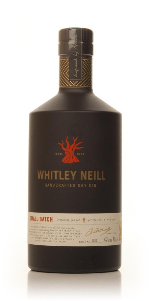 Whitley Neill Handcrafted Dry Gin 42% 3cl Sample Gin