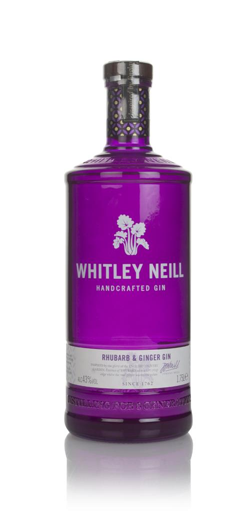 Whitley Neill Rhubarb & Ginger Gin (1.75L) Flavoured Gin
