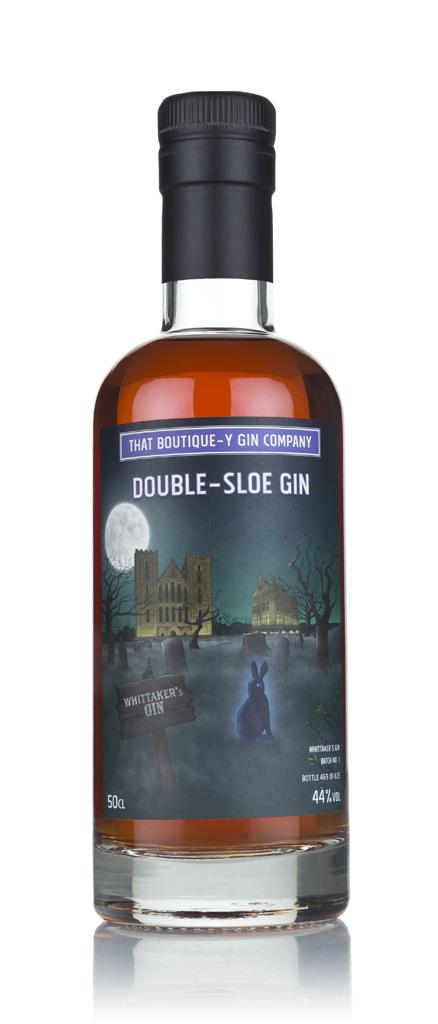 Double-Sloe Gin - Whittaker's Gin (That Boutique-y Gin Company) 3cl Sa Sloe Gin 3cl Sample