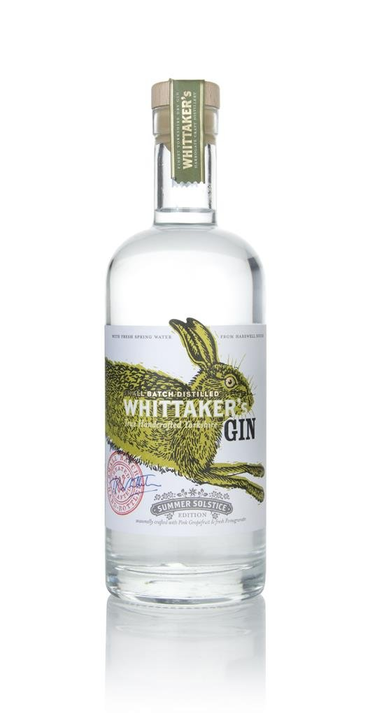 Whittakers Summer Solstice Gin