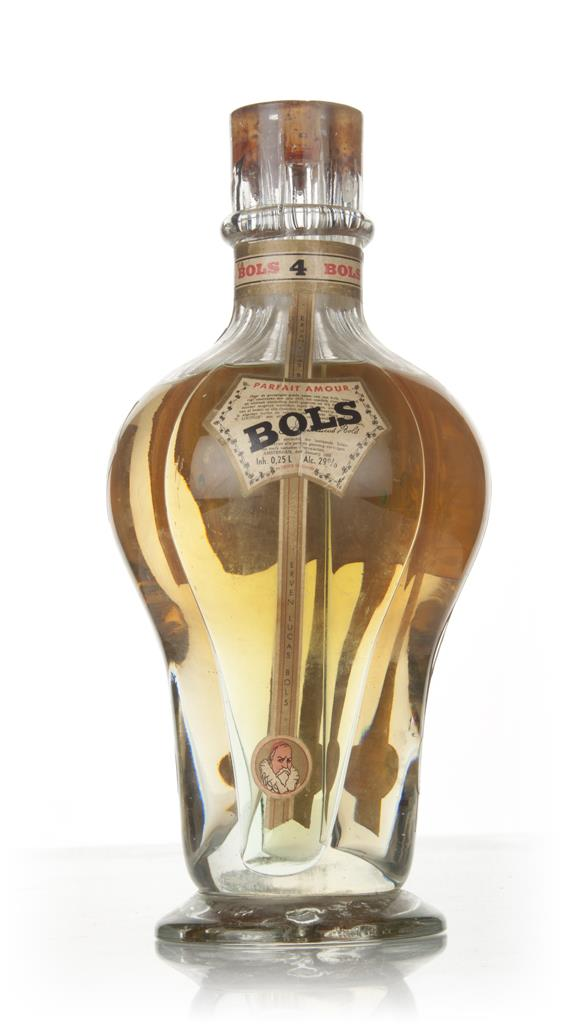 Bols Four Compartment Liqueur Bottle - 1950s Liqueurs