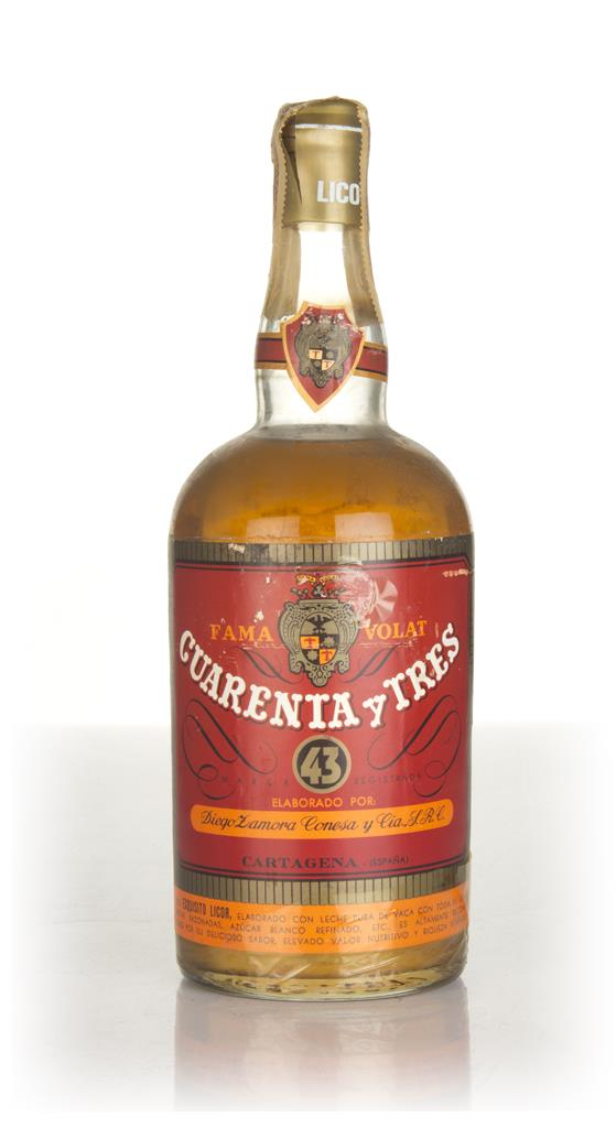 Licor 43 Cuarenta y Tres (Red Label) - 1960s Liqueurs