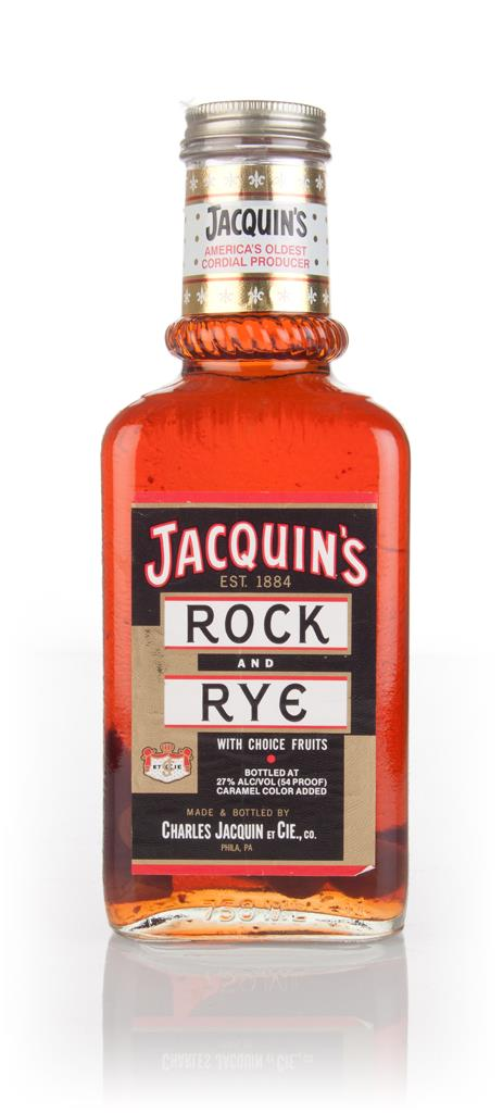 Jacquins Rock and Rye (27%) Liqueurs