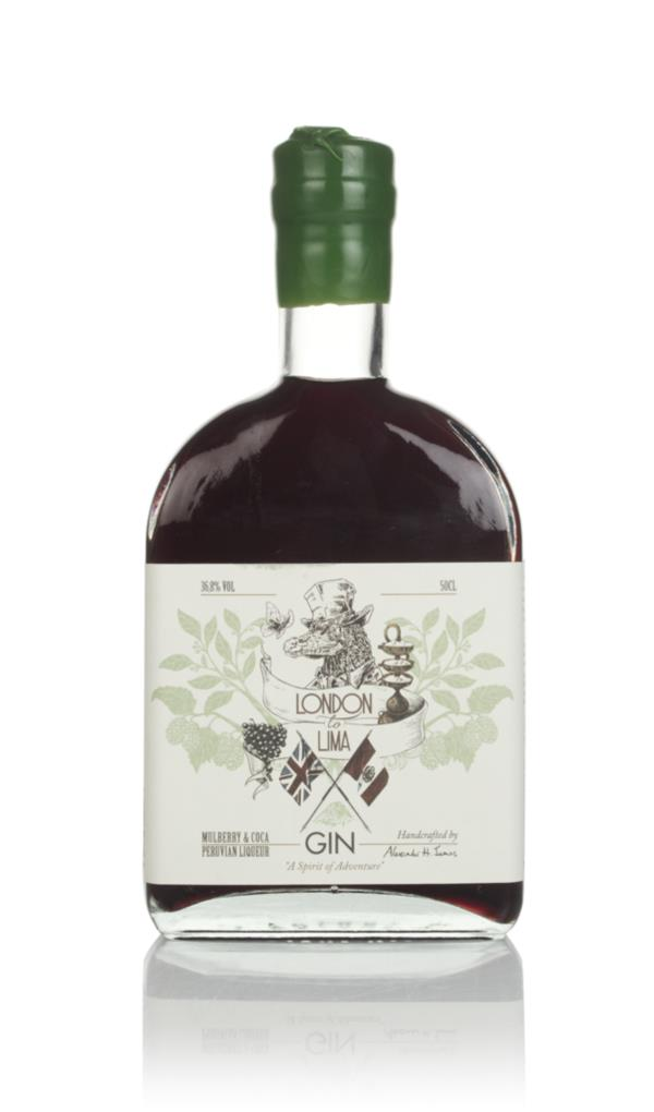 London to Lima Mulberry & Coca Gin Gin Liqueur
