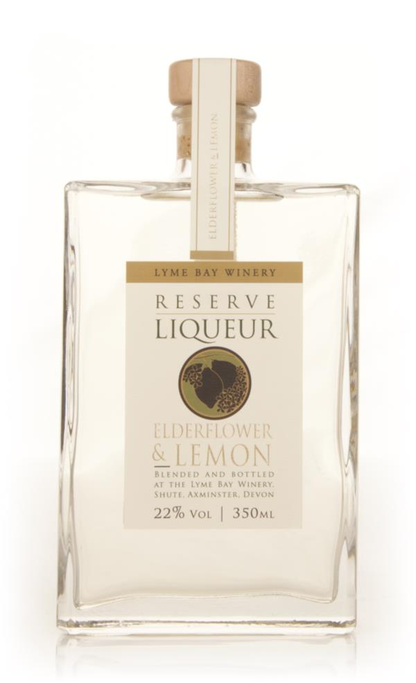 Elderflower & Lemon Reserve Liqueur (Lyme Bay Winery) Fruit Liqueur