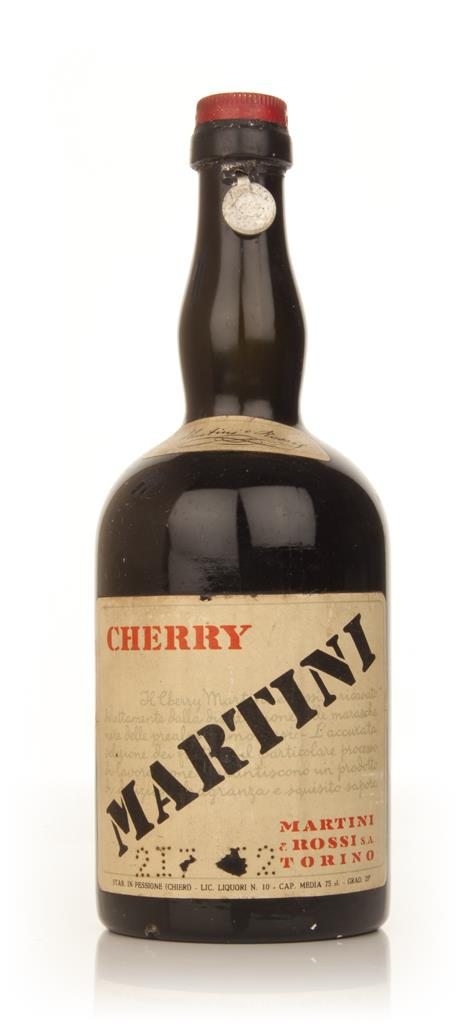 Martini and Rossi Cherry Liqueur - 1949-59 Liqueurs
