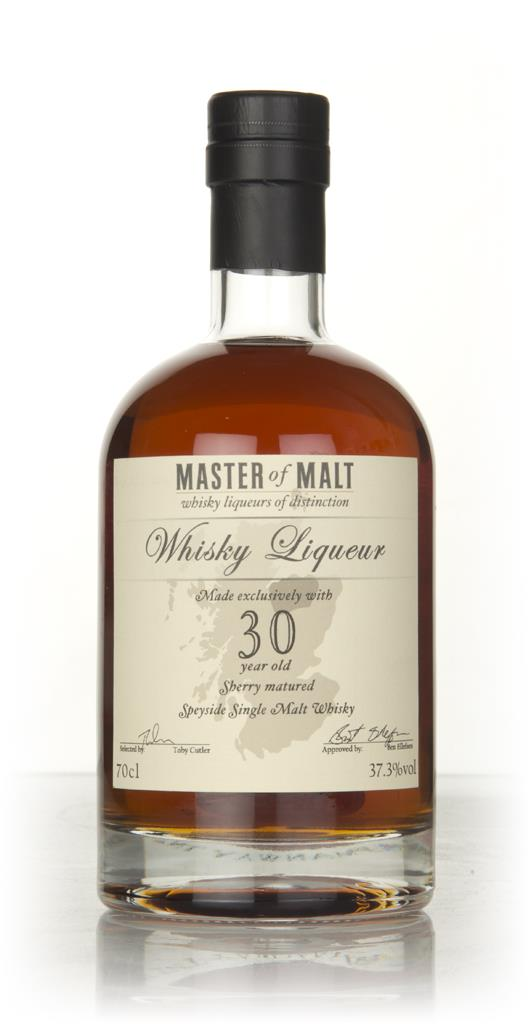 Master of Malt 30 Year Old Speyside Whisky Single Malt Liqueur