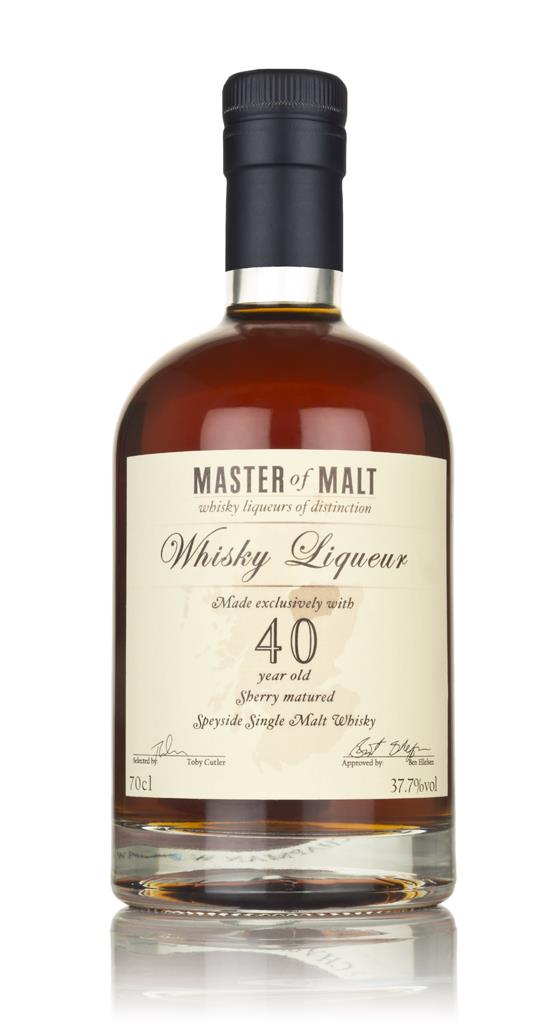 Master of Malt 40 Year Old Speyside Whisky Single Malt Liqueur