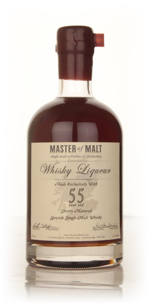 Master of Malt 55 Year Old Speyside Whisky Liqueur 3cl Sample Liqueurs