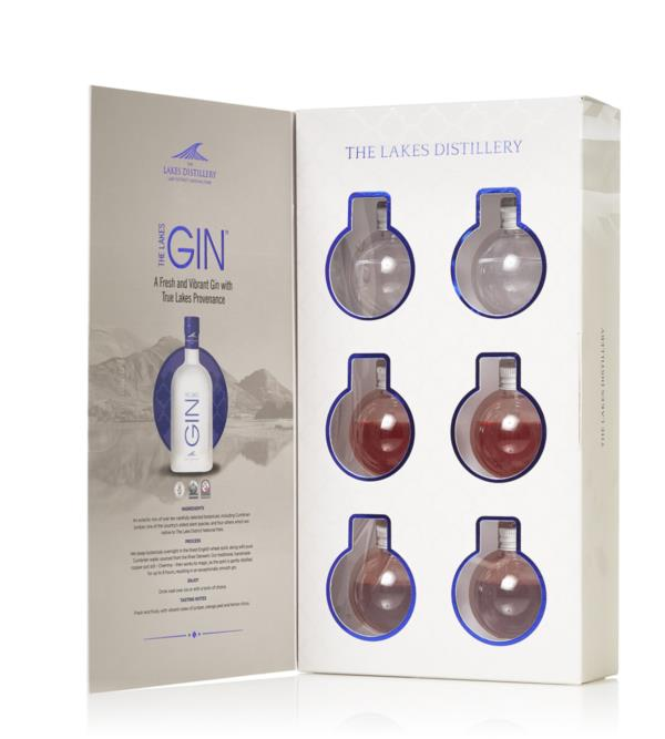 The Lakes Gin Bauble Gift Set Gin Liqueur