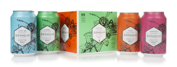 Gosnells Sparkling Mead Mixed Pack (4 x 330ml) Mead