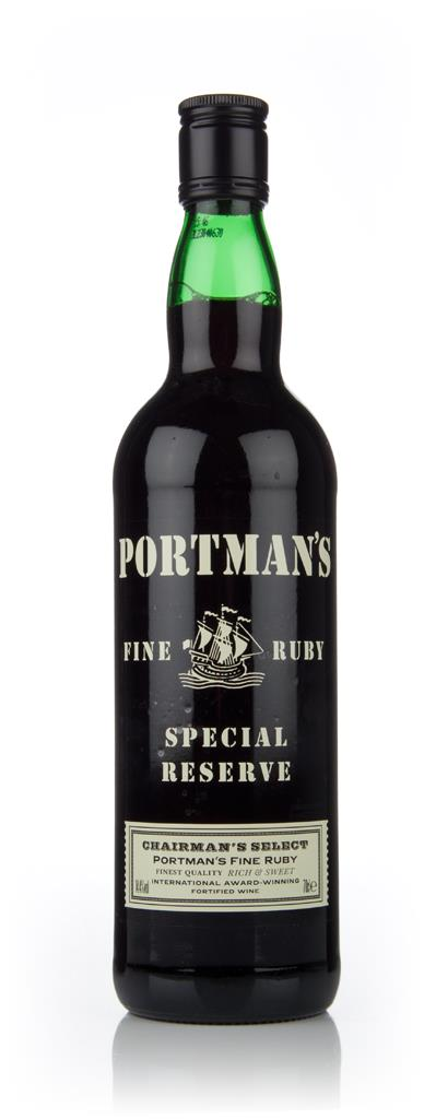 Portman's Fine Ruby Other Fortified