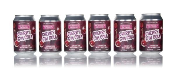 That Boutique-y Gin Company Cherry Gin Cola Bundle (6 x 330ml) Pre-Bottled Cocktails