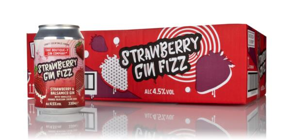 That Boutique-y Gin Company Strawberry Gin Fizz (24 x 330ml) Pre-Bottled Cocktails