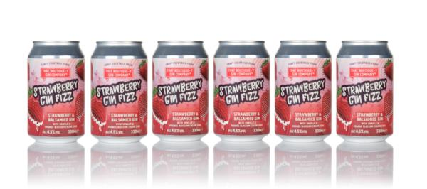 That Boutique-y Gin Company Strawberry Gin Fizz Bundle (6 x 330ml) Pre-Bottled Cocktails