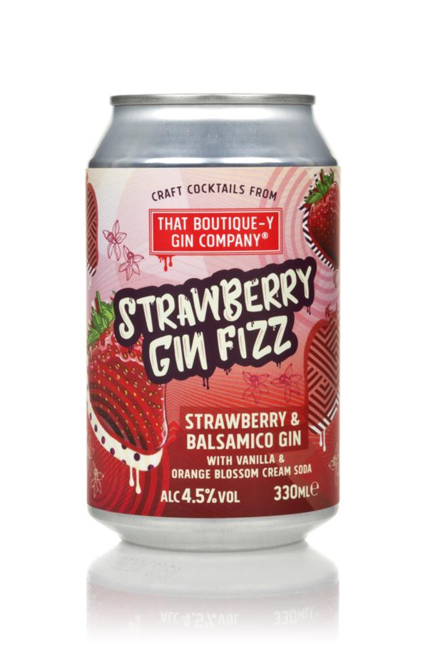 That Boutique-y Gin Company Strawberry Gin Fizz Pre-Bottled Cocktails