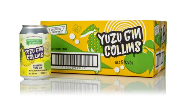 That Boutique-y Gin Company Yuzu Gin Collins (12 x 330ml) Pre-Bottled Cocktails