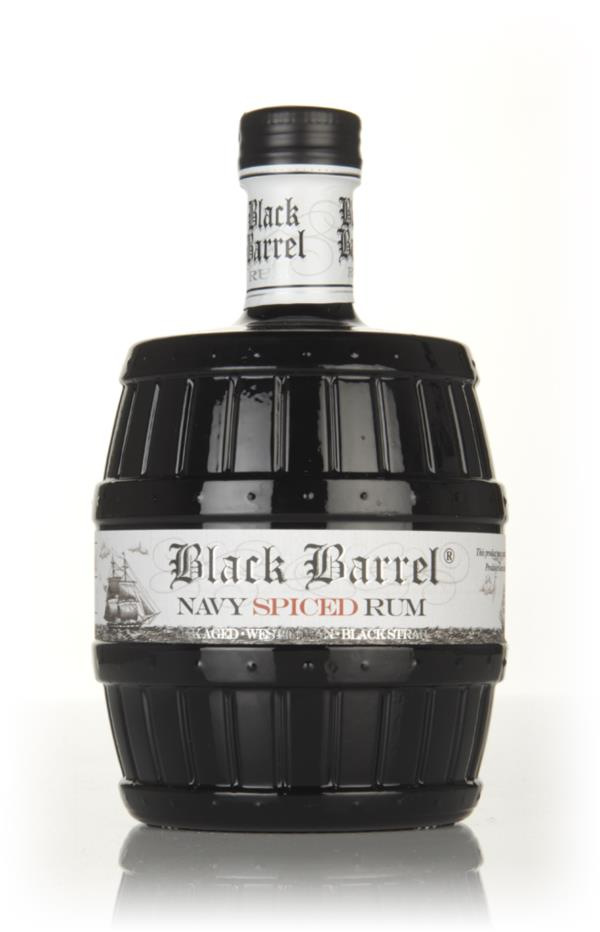 A.H. Riise Black Barrel Navy Spiced Spiced Rum