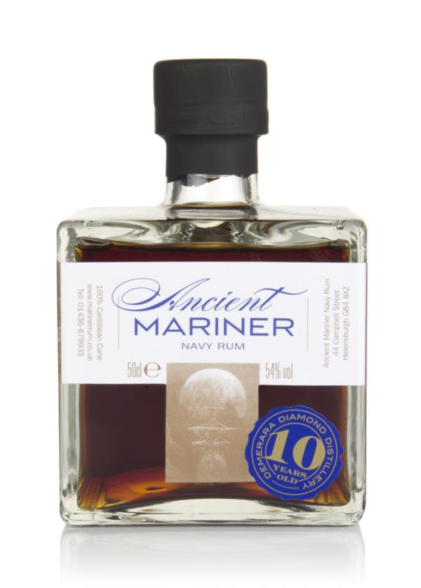 Ancient Mariner 10 Year Old Navy Rum (2018 Edition) Dark Rum