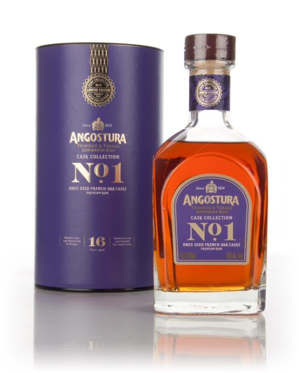 Angostura No.1 16 Year Old French Oak - Cask Collection 3cl Sample Dark Rum