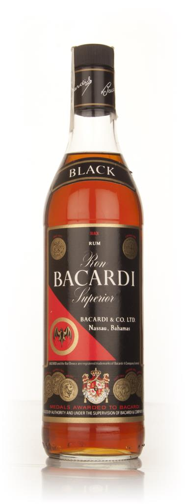 Bacardi Black - 1980s Dark Rum