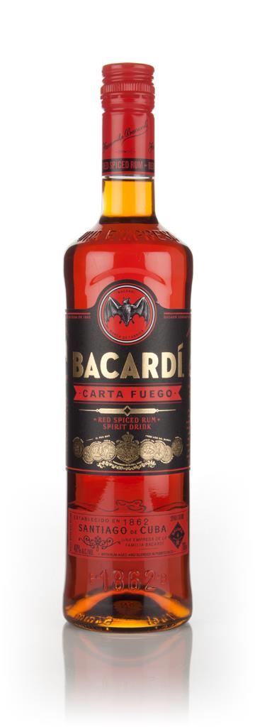 Bacardi Carta Fuego Spirit Drink 3cl Sample Spiced Rum