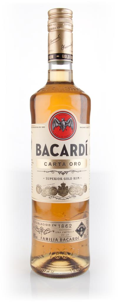 Bacardi Carta Oro 40% 3cl Sample Dark Rum