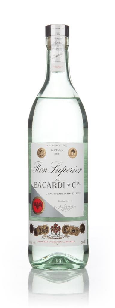 Bacardi Ron Superior Heritage Limited Edition White Rum
