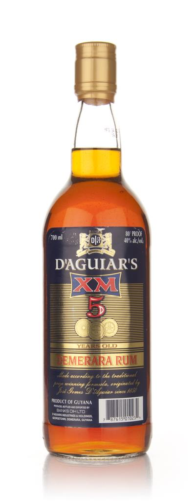 XM 5 Year Old D'Aguiar's Dark Rum