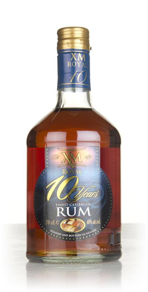 XM Royal 10 Year Old 3cl Sample Dark Rum