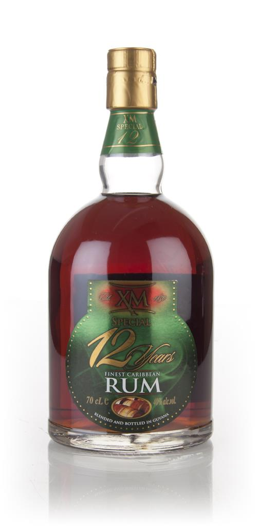 XM Special 12 Year Old Rum 3cl Sample Dark Rum