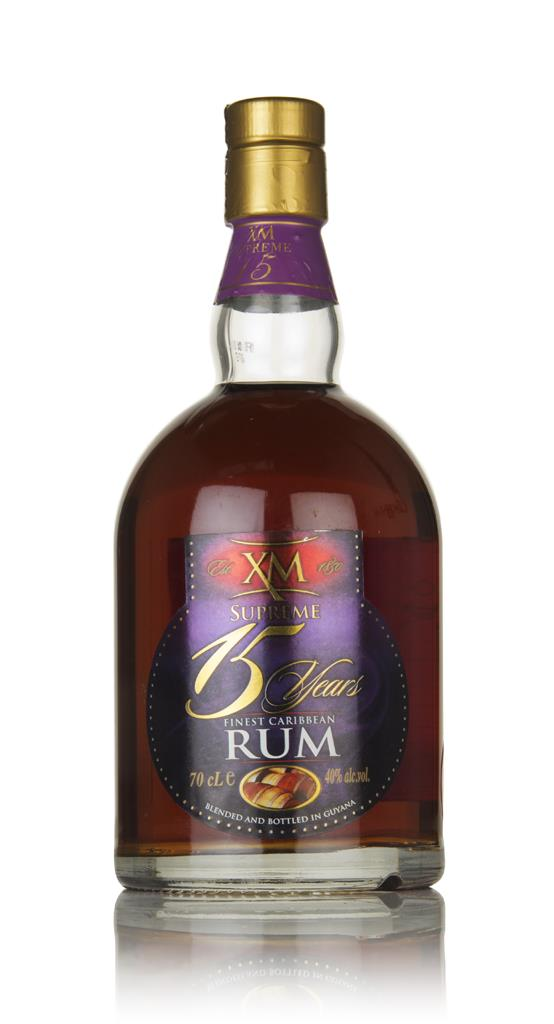 XM Supreme 15 Year Old Rum 3cl Sample Dark Rum