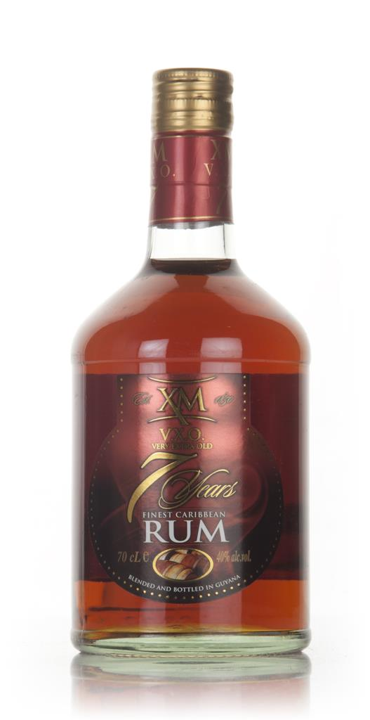 XM VXO Rum 7 Year Old 3cl Sample Dark Rum