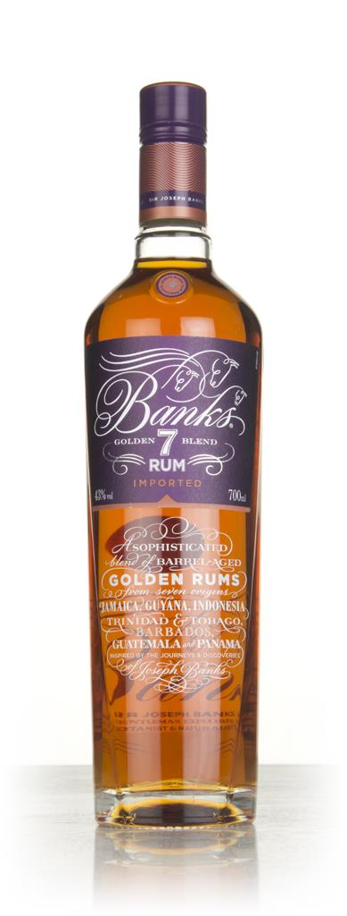 Banks 7 Island Rum 3cl Sample Dark Rum