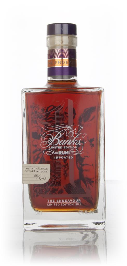 Banks The Endeavour - Limited Edition No.1 - 16 Year Old 1996 Rum 3cl Dark Rum 3cl Sample