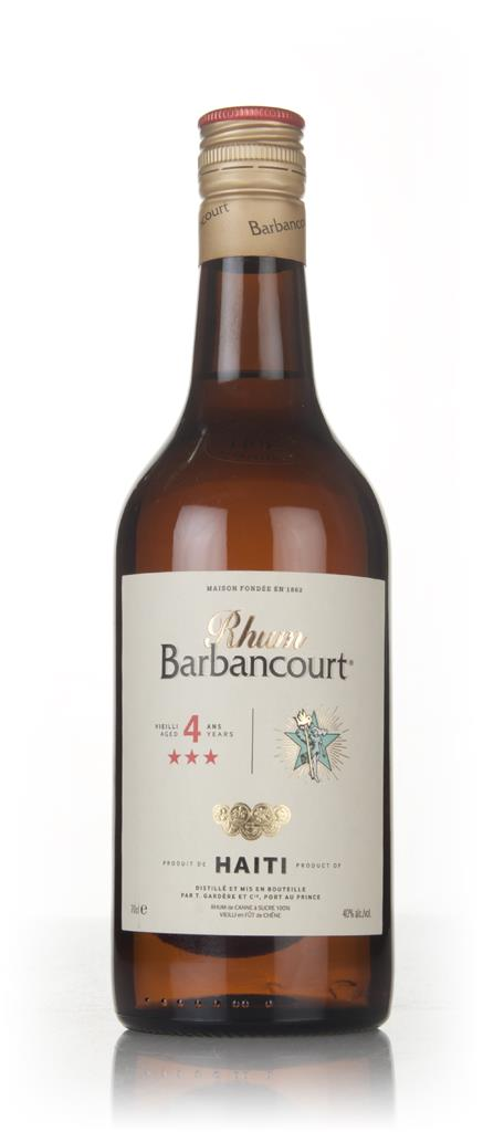 Barbancourt 3 Star (4 Year Old) Dark Rum