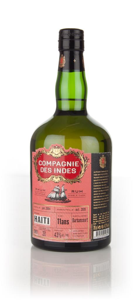 Barbancourt 11 Year Old - Haiti Rhum (Compagnie des Indes) 3cl Sample Rhum Agricole Rum