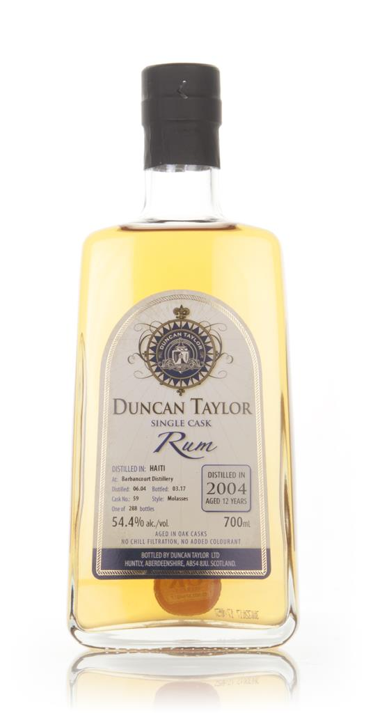 Barbancourt 12 Year Old 2004 (cask 59) - Single Cask Rum (Duncan Taylo Dark Rum