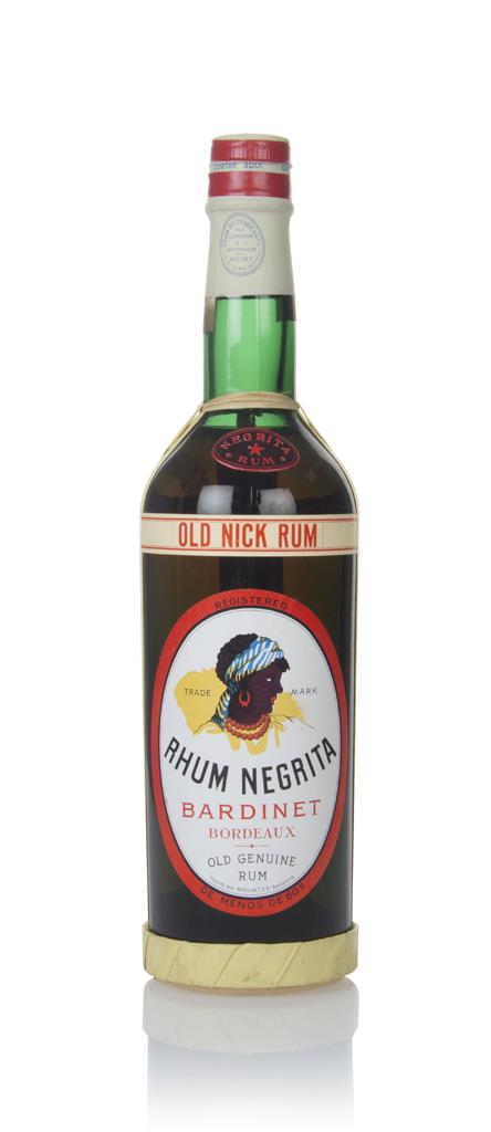 Bardinet Old Nick Rhum Negrita Old Genuine - 1960s Dark Rum