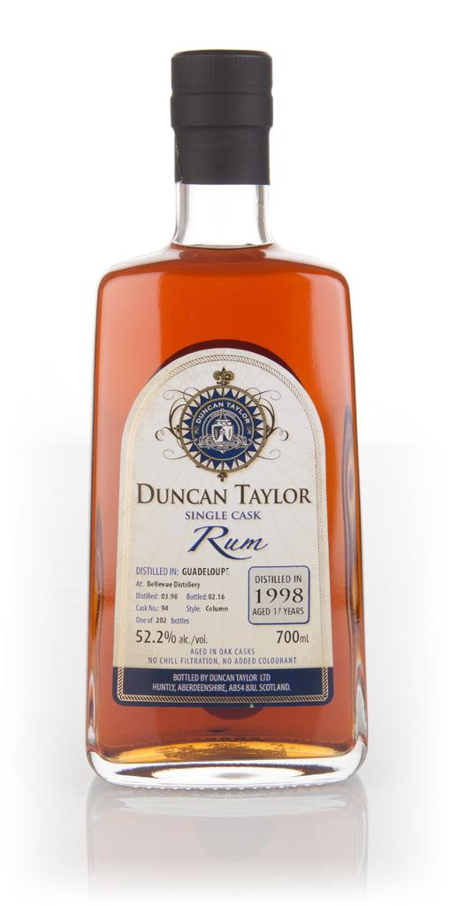 Bellevue 17 Year Old 1998 (cask 94) - Single Cask Rum (Duncan Taylor) Dark Rum 3cl Sample