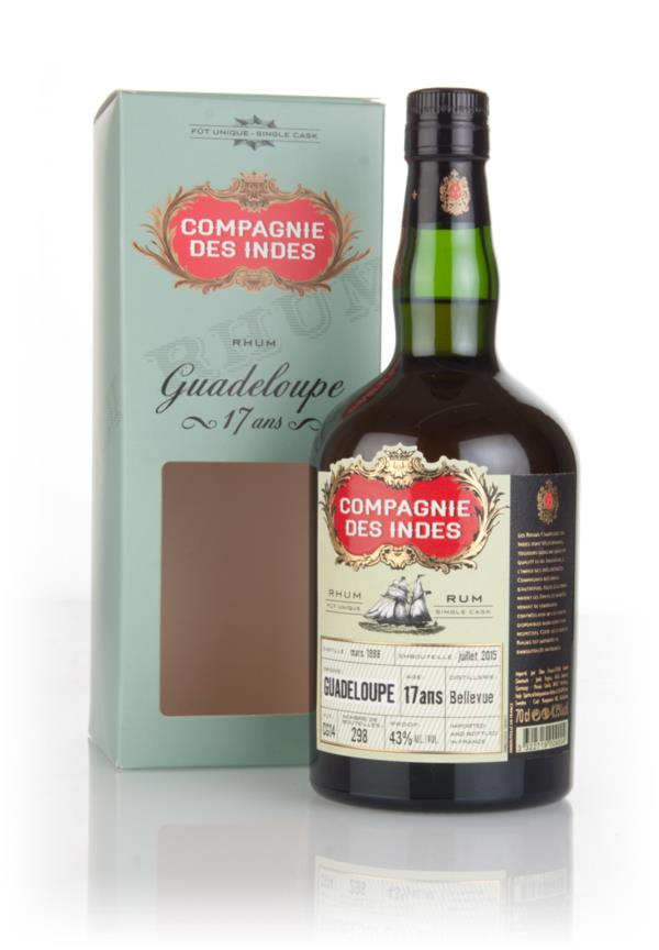 Bellevue 17 Year Old 1998 - Guadeloupe Rum (Compagnie Des Indes) 3cl S Dark Rum 3cl Sample