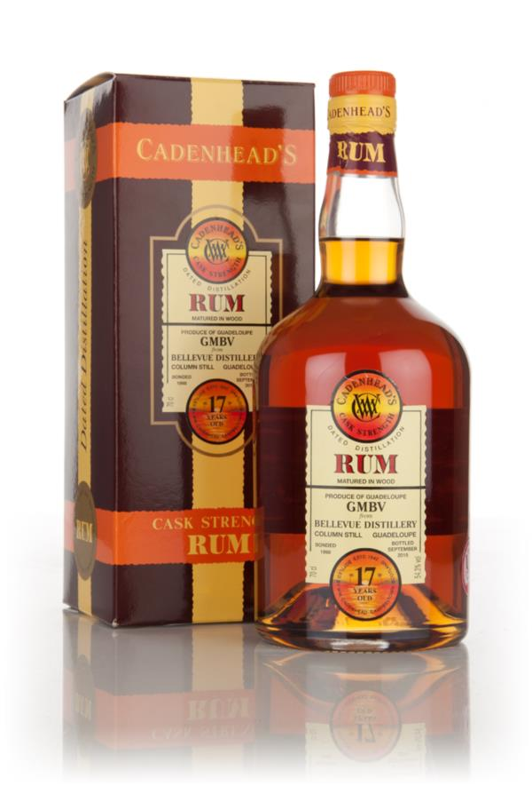 Bellevue 17 Year Old - Cask Strength (WM Cadenhead) Dark Rum