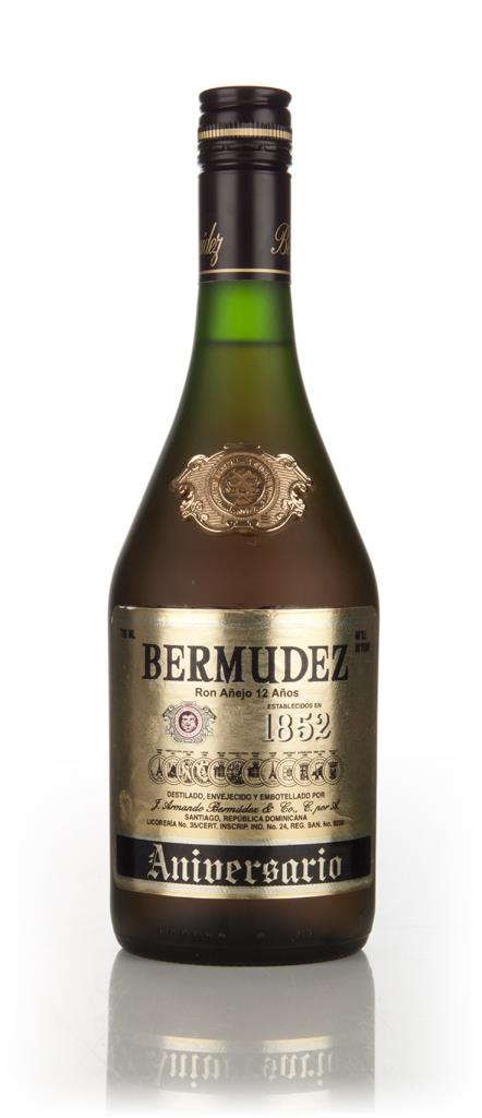 Bermudez 1852 Aniversario 3cl Sample Dark Rum