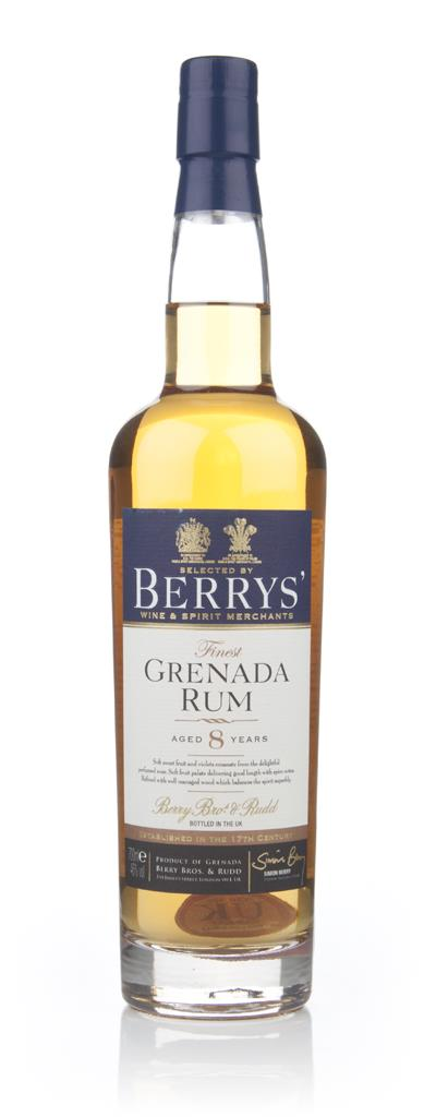 Grenada 8 Year Old Rum (Berry Bros & Rudd) Dark Rum