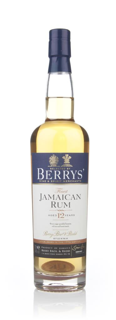 Jamaica 12 Year Old Rum (Berry Bros & Rudd) Dark Rum