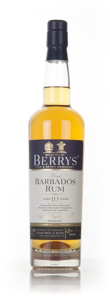 Barbados Rum 10 Year Old (Berry Bros. & Rudd) Dark Rum