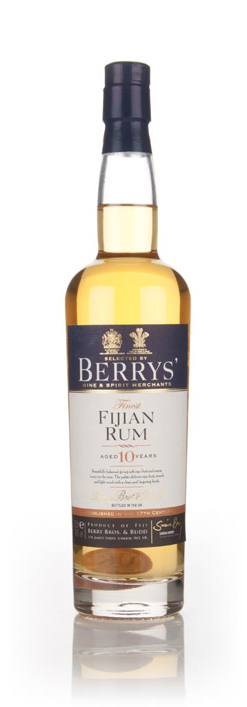 Fijian 10 Year Old Rum (Berry Bros. & Rudd) Dark Rum